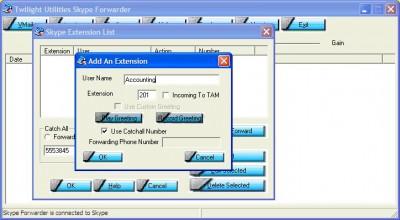 Skype Forwarder 1.7.4.6 screenshot