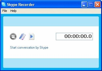 Skype Recorder 1.4 screenshot