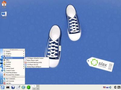SLAX 5.1.8.1 screenshot