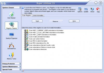 Super Utilities Pro 9.9.58 screenshot