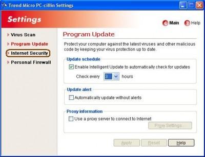 Trend Micro Internet Security Pro 2008 16.0 Build 1449 screenshot