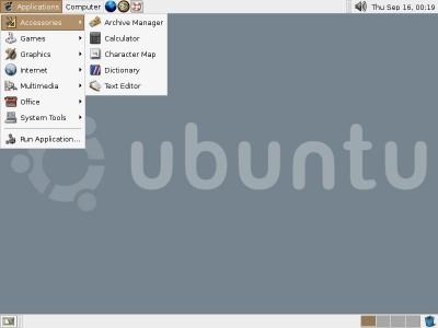 Ubuntu 7.10 Final screenshot