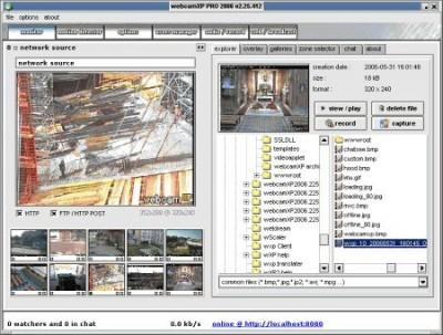 webcamXP Pro 4.00.500 beta screenshot