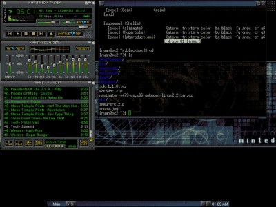 XMMS 1.2.11 screenshot