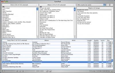 YamiPod for Windows 1.7 screenshot