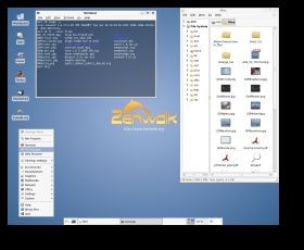 Zenwalk Linux 4.8 screenshot